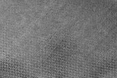 Texture Shiny Fabric Of Black Color