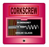 Emergency Corkscrew