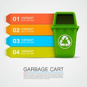 Graphic information Ecological tras