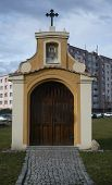 pic of chapels  - This is a small chapel in Rokycany town in Bohemia - JPG