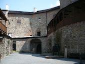 The Sovinec Castle in Ji?íkov on The Czech Republic