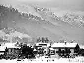 Winter Scene of Santo Stefano di Cadore