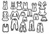Clothes On Line Colour