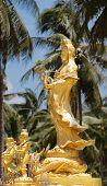 Statue Of Guan Yin Chinese Goddess  Mercy