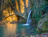 Old Water Mill Hidden In The Tuscany Countryside