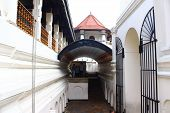 The entrance to the Temple of Tooth relic, Kandy