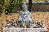 Gyeongju, Korea - October 20, 2014: Statue Of The Buddha