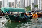 Hong Kong Sampans