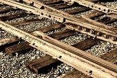 Vintage Rail Tracks
