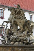 Caesar Fountain in Olomouc