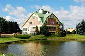 House In The Grutas Park Near Druskininkai Town