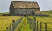 Antique Scottish Church In Lewis Isle. St. Moluag. Scotland