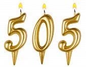 Candles Number Five Hundred Five