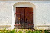 ancient locked door