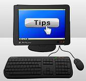 Tips Computer Concept