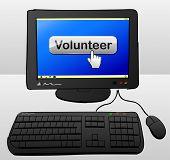 Volunteer Computer Concept