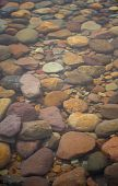 Pebbles, Rocks in Water