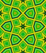 stock photo of kaleidoscope  - Seamless pattern with lime abstract motif like a kaleidoscope - JPG