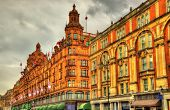 picture of kensington  - Harrods a department store in London  - JPG