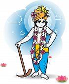 pic of indian culture  - Lord Shri Balaram  - JPG