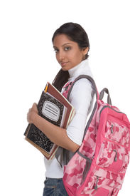 picture of beautiful young woman  - education series  - JPG