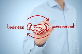 stock photo of lobbyist  - Business to government  - JPG