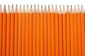 Orange Pencils