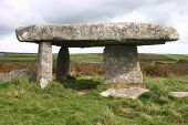 Lanyon Quoit, Burial Chamber. Ancient Monument, Cornwall, Uk poster