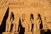 Abu Simbel Colossus, Egypt, Africa