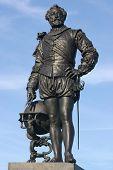 Statue von Sir. Francis Drake