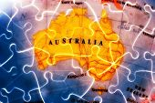 picture of eastern hemisphere  - Australia Puzzle Let me know if u need a specific area to be photographed - JPG