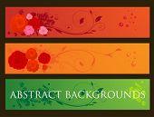 Постер, плакат: Абстрактные иллюстрация для проектирования и обои