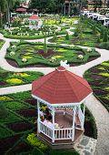 Summerhouse in Nong Nooch tropical garden