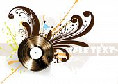 Vinyl illustration