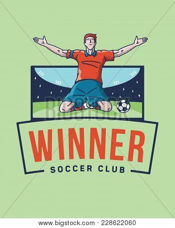 The Soccer Winner Is A