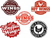 Buffalo Chicken Wing Stamps