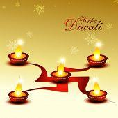 beautiful diwali hindu festival background