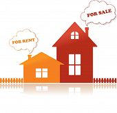 Houses for sale and for rent