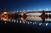 Pont Saint-pierre In Toulouse