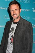 LOS ANGELES - AUG 19:  David Arquette at the D23 Expo 2011 at the Anaheim Convention Center on Augus
