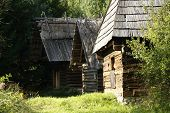 historic cottages in nature