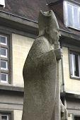 Statue Of Bishop France