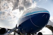 MOSCOW, RUSSIA, AUGUST,16: NEW BOEING 787 at the International Aviation and Space salon MAKS 2011. A