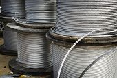 Coiled Metal Cable