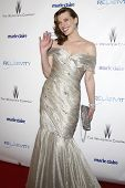 BEVERLY HILLS - JAN 16: Milla Jovovich at The Weinstein Company And Relativity Media's 2011 Golden Globe Awards Party in Beverly Hills, California on January 16, 2011