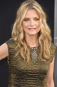 HOLLYWOOD, CA - MAY 7: Actress Michelle Pfeiffer arrives at the premiere of the Warner Bros. Picture