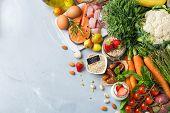Dash Flexitarian Mediterranean Diet To Stop Hypertension, Low Blood Pressure poster