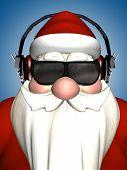 Santa-dj-Kopfhörer