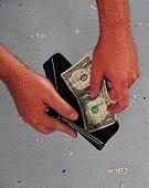 Gasto de dinero