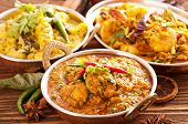 stock photo of curcuma  - Indian food specialities - JPG